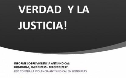Informe Violencia Antisindical